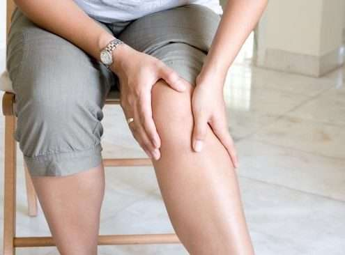 Stiffness after knee replacement surgery