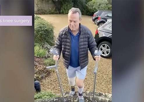 My knee replacement recovery diary